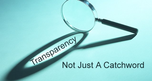 SHIFT to transparency