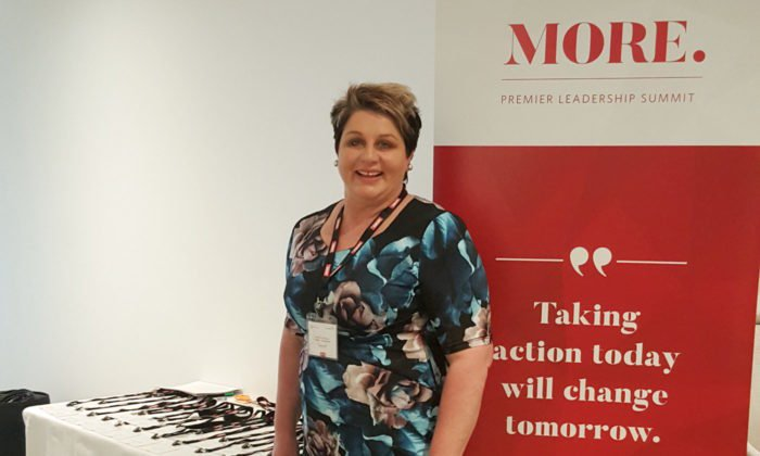 Rebecca Morris at the MORE Summit Workshop 2017