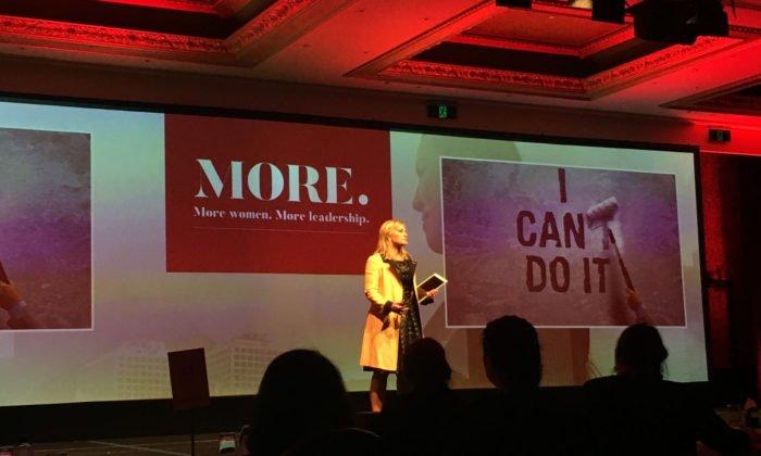 Vanessa Sorenson speaks at the MORE Summit 2017