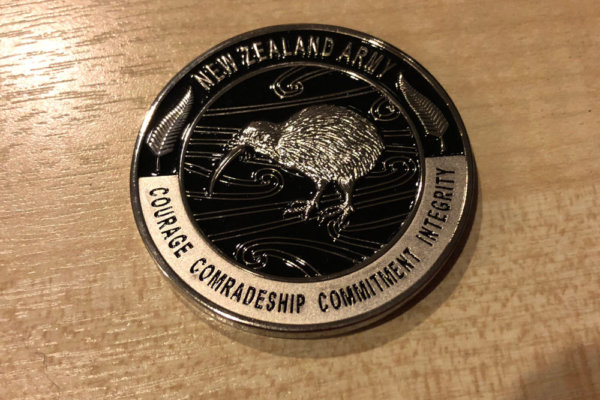 NZ Army service medal